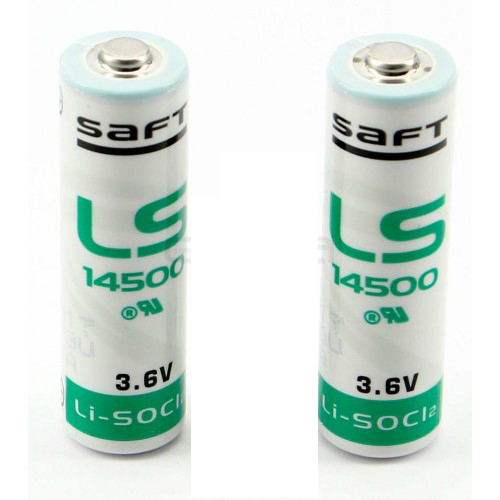 Erreka LFTBAT 2 lithium batteries 3.6V for LFT25B photocell